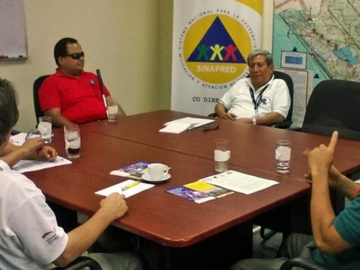 Nicaragua avanza en la inclusión de personas con discapacidad en la RRD