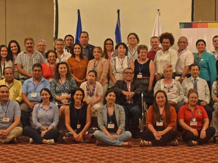 Participantes del Taller Regional La Inclusión Salva Vidas
