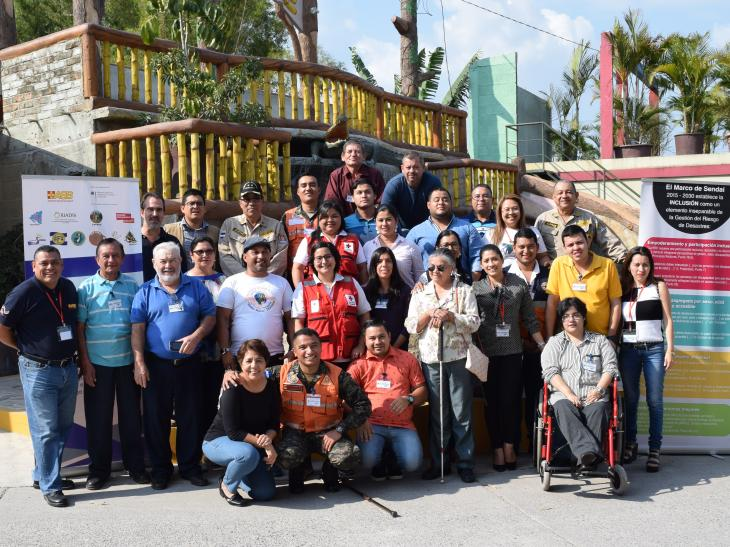 Talleres para la formación de formadores en gestión inclusiva del riesgo de desastres en Centroamérica